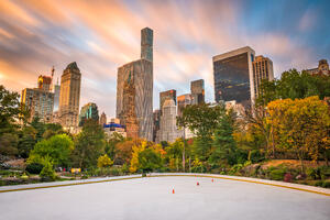 NYC city skyline